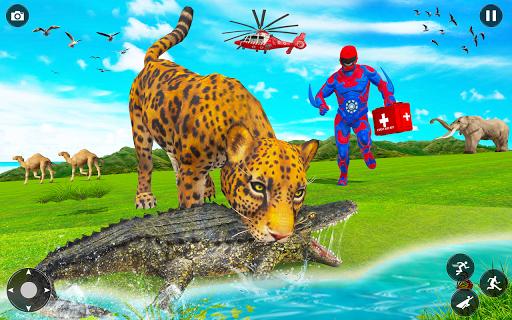 Superhero robot game police hero: rescue mission  Screenshots 8
