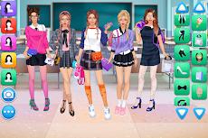 女子高生 ドレスアップ ゲームのおすすめ画像1