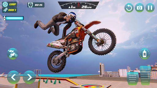 City Bike Driving Simulator-Real Motorcycle Driver screenshots 11