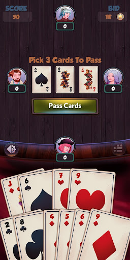 Hearts - Free Card Games 2.5.4 screenshots 16