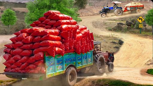 Real Cargo Tractor Trolley Farming Simulation Game  screenshots 2