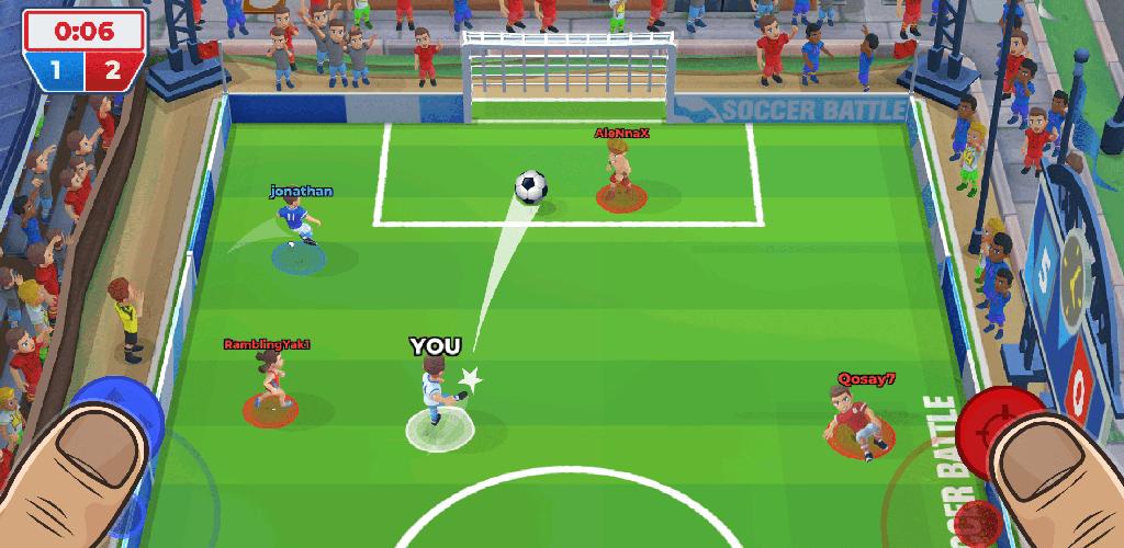 Soccer Battle - 3v3 PvP poster 0