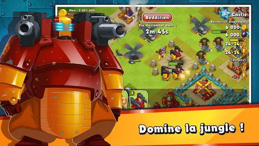 Jungle Heat: War of Clans APK MOD (Astuce) screenshots 5