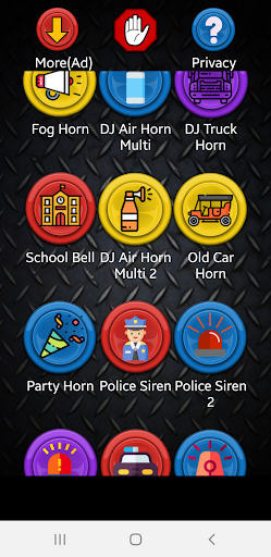 Sirens and Horns For PC Windows (7, 8, 10, 10X) & Mac Computer Image Number- 5