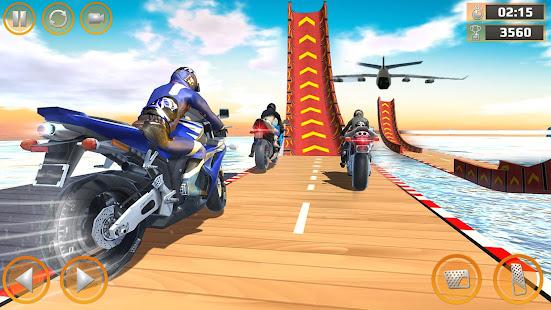 Mega Ramp Impossible Tracks Stunt Bike Rider Games 3.4.2 Screenshots 4