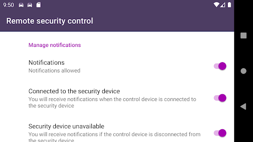 Remote car security screenshot 12