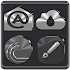 Black, Silver & Grey Icon Pack Free