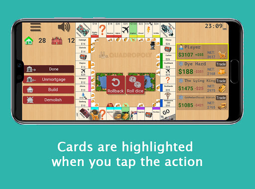 Quadropoly Best AI Board Business Trading Game android2mod screenshots 8
