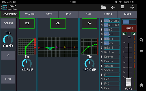 Mixing Station XM32 android2mod screenshots 8