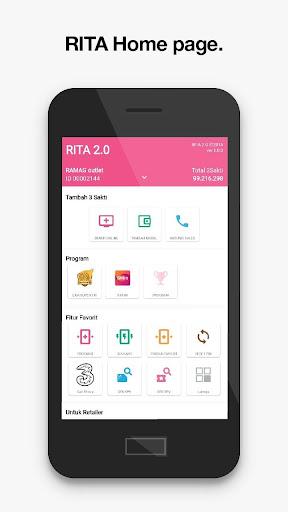 RITA: Informasi & Aktivitas Retailer Tri Indonesia