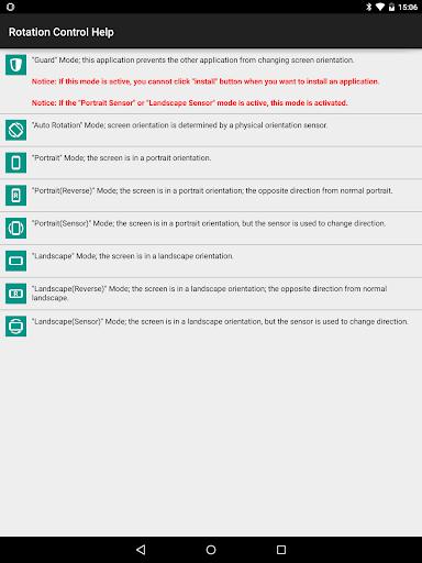Rotation Control 1.0 Screenshots 6