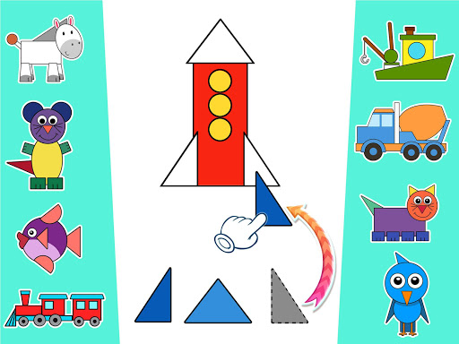 Learn shapes and colors for toddlers kids screenshots 12