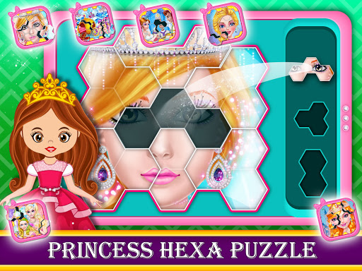 Baby Princess Computer - Phone, Music, Puzzle  screenshots 1