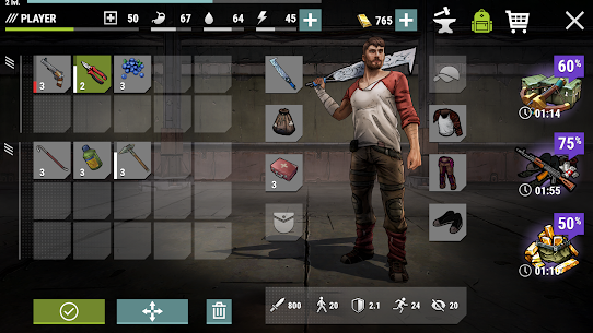 Dark Days: Zombie Survival Mod Apk (Unlimited Money + Energy) 1.4.3 5
