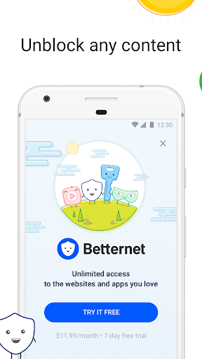 VPN Free - Betternet Hotspot VPN & Private Browser 5.8.0 Screenshots 9