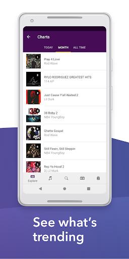 Spinrilla - Hip-Hop Mixtapes & Music apktram screenshots 5