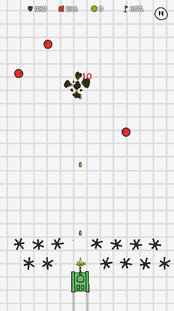 القوة المرسومة: دبابات القتال