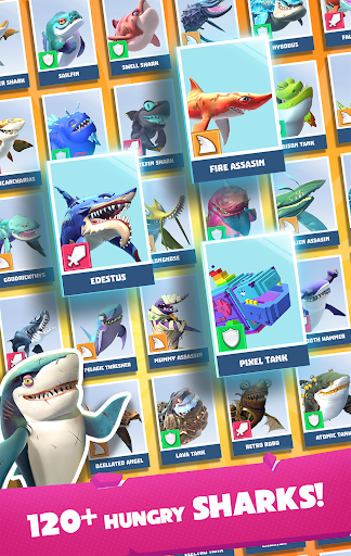 Hungry Shark Heroes 3.4 Screenshots 16