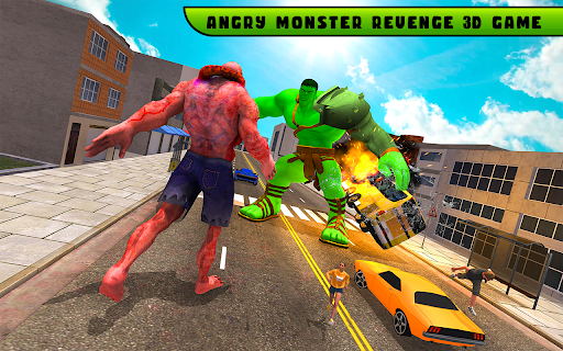 Incredible Monster City Hero Battle Mission 2021 1.1 screenshots 8