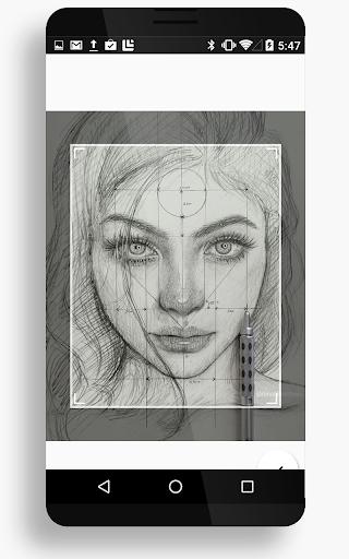 Drawing Realistic Face 15 Screenshots 4