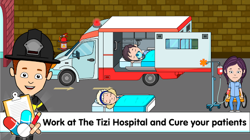 My Tizi Town Hospital - Doctor Games for Kids ud83cudfe5 screenshots 8