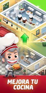 Idle Restaurant Tycoon – Empire de la Cocina 3