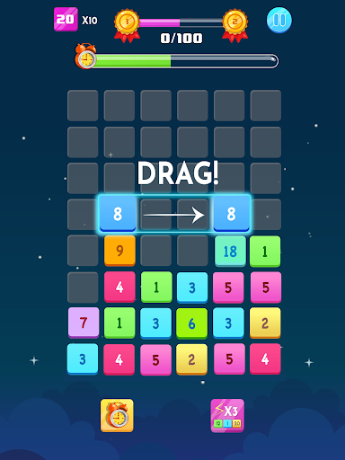 Number Blocks - Merge Puzzle 1.18.2 screenshots 10