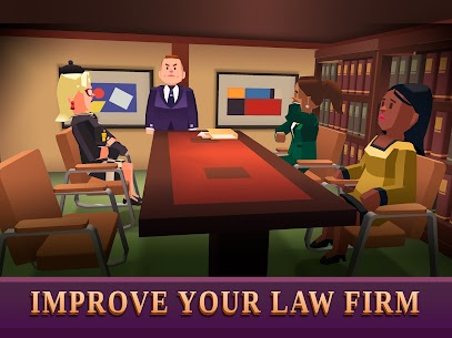 Law Empire Tycoon MOD APK 1.9.1 (Unlimited Money) 14