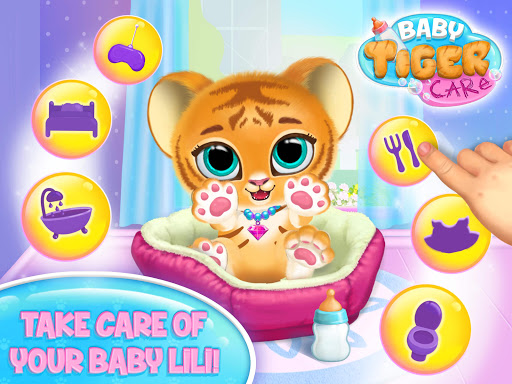 Baby Tiger Care - My Cute Virtual Pet Friend modavailable screenshots 7