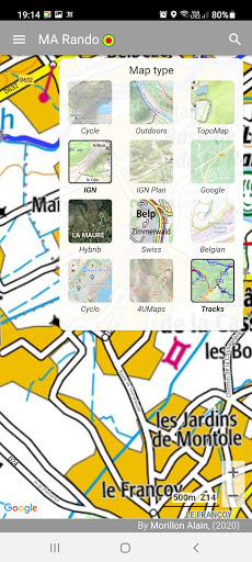 GPS for Hiking, Cycling, Hunting and offline maps modavailable screenshots 3
