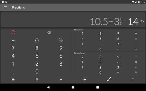 Fractions - calculate and compare 2.18 Screenshots 14