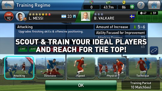 PES CLUB MANAGER MOD APK (Unlimited Coins) 4