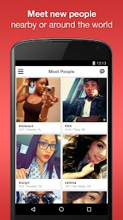 Moco: Chat & Meet New People Screenshot