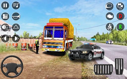 American Cargo Truck Game - New Driving Simulator 1.6 Screenshots 1