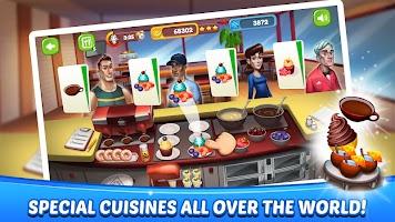 Cooking Games - Fast Food Fever & Restaurant Craze