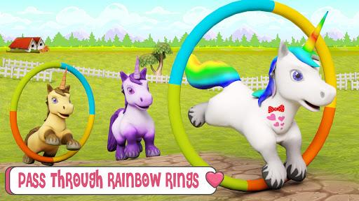 Baby Unicorn Wild Life: Pony Horse Simulator Games 1.2.5 screenshots 5