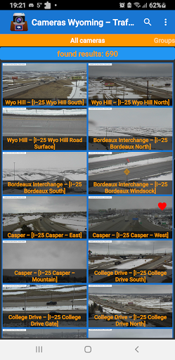 Cameras Wyoming - Traffic cams 9.1.2 screenshots 1