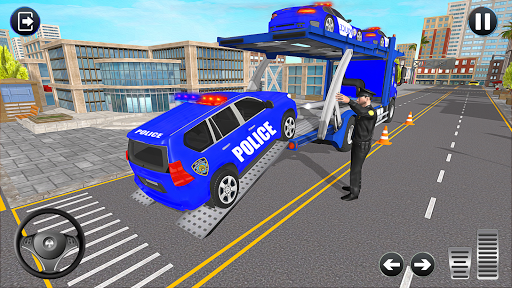 Grand Police Transport Truck screenshots 3