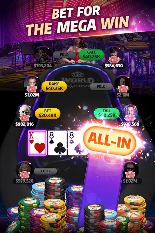 Mega Hit Poker: Texas Holdem  poster 2
