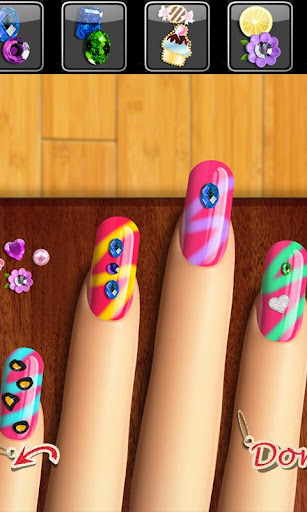 Nail Games™ Top Girls Makeup and Makeover Salon 3.1 screenshots 1