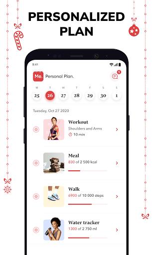 BetterMe: Home Workouts & Diet 4.1.1 Screenshots 2