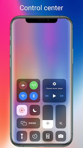 OS13 Launcher, Control Center, i OS13 Theme  Screenshots 2