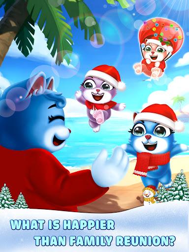Cat Pop Island: Bubble Shooter Adventure Apkfinish screenshots 12