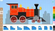 Labo 子供のためのレンガ列車ゲーム-子供の列車ゲーム鉄道レースゲーム。のおすすめ画像5