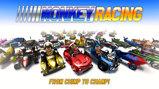 Monkey Racing Free 1.0 screenshots 1