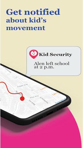 Kid security - GPS phone tracker, family search  screenshots 2