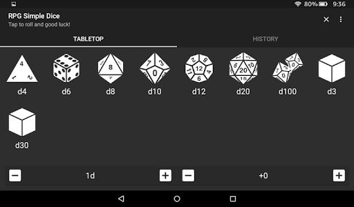 RPG Simple Dice  screenshots 12