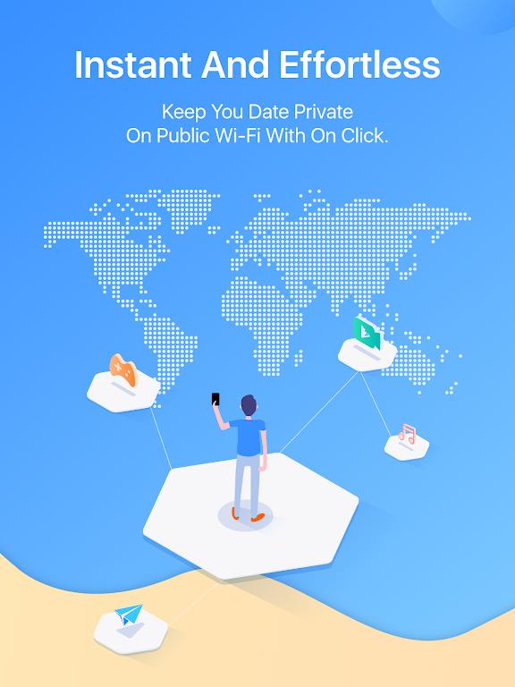 FlyVPN - Secure & Fast VPN poster 5