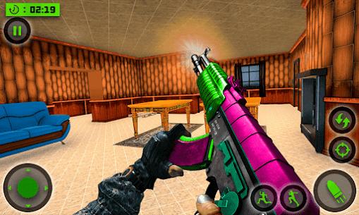 House Destruction Smash Destroy FPS Shooting House Mod Apk (God Mode) 1
