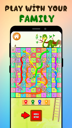 Neo Classic Snake and Ladder : King of Board Game  screenshots 4